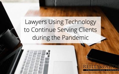 Lawyers Using Technology to Continue Serving Clients during the Pandemic